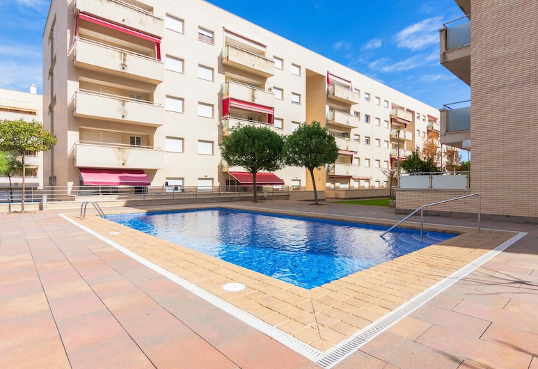 Apartment With 2 Bedrooms in Lloret de Mar, With Wonderful City View, Shared Pool, Furnished Terrace - 500 m From the Beach, Lloret de Mar