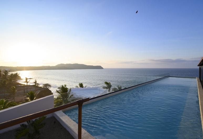 Hotel Basalto, Punta de Mita, Piscina
