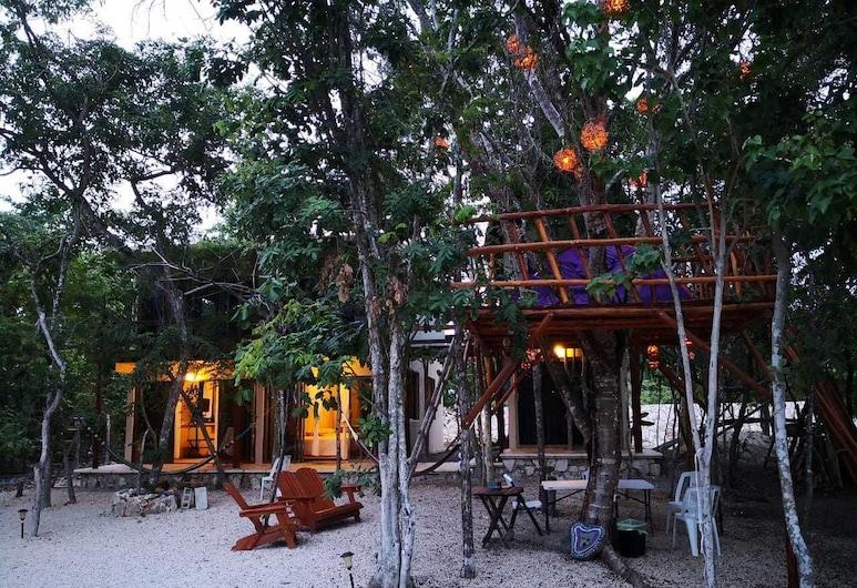 Iguana Rana Cabins Bacalar, Bacalar, Izba typu Comfort, Terasa