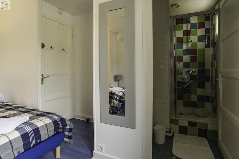 ห้องดับเบิล (B) - ห้องน้ำ
