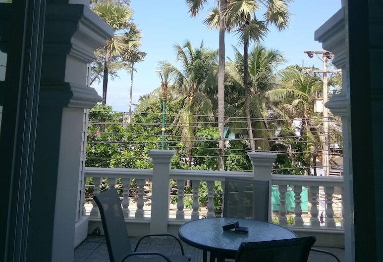 SeaCono Patong Beach Front, Patong, Rodinný štúdiový apartmán, Terasa