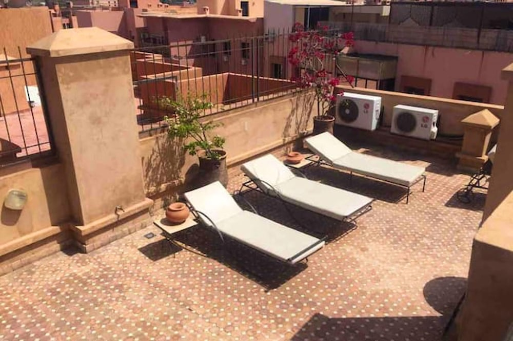 Apartment With 2 Bedrooms in Marrakesh, With Wonderful City View, Shared Pool, Furnished Terrace
