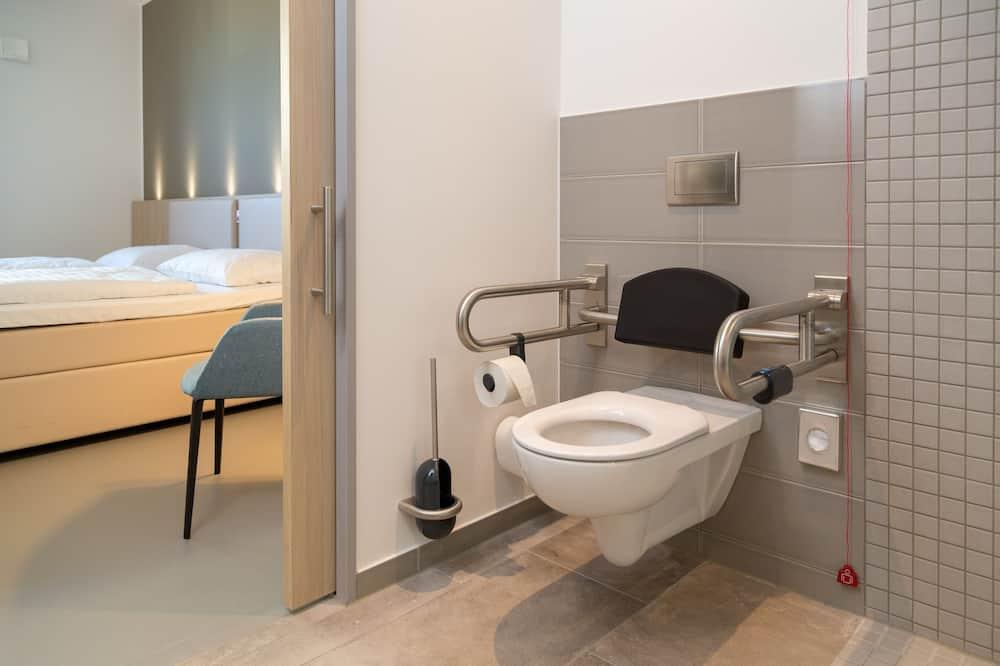 Doppelzimmer, barrierefrei - Badezimmer