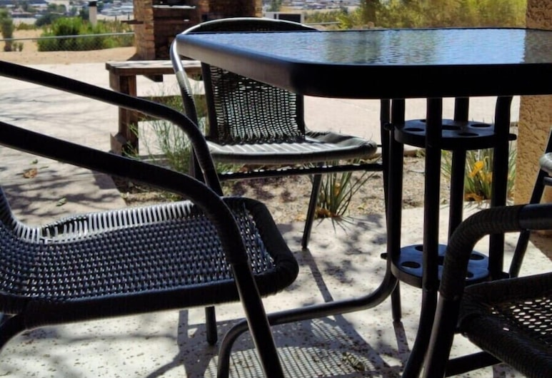 Oaza Yucca Valley w pobliżu parku Joshua Tree i Pioneertown, Yucca Valley, Balkon