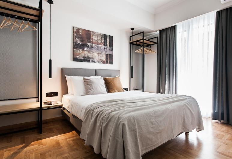 UPSTREET Modern Minimalist 3BD Apt-Hilton, Ateena, Huoneisto, Huone