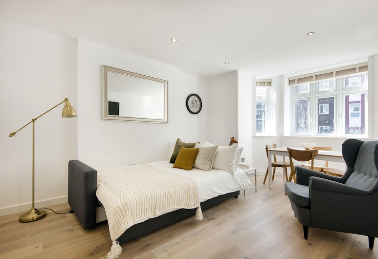 Notting Hill Apartments, London, Külaliskorter, terrass, Tuba