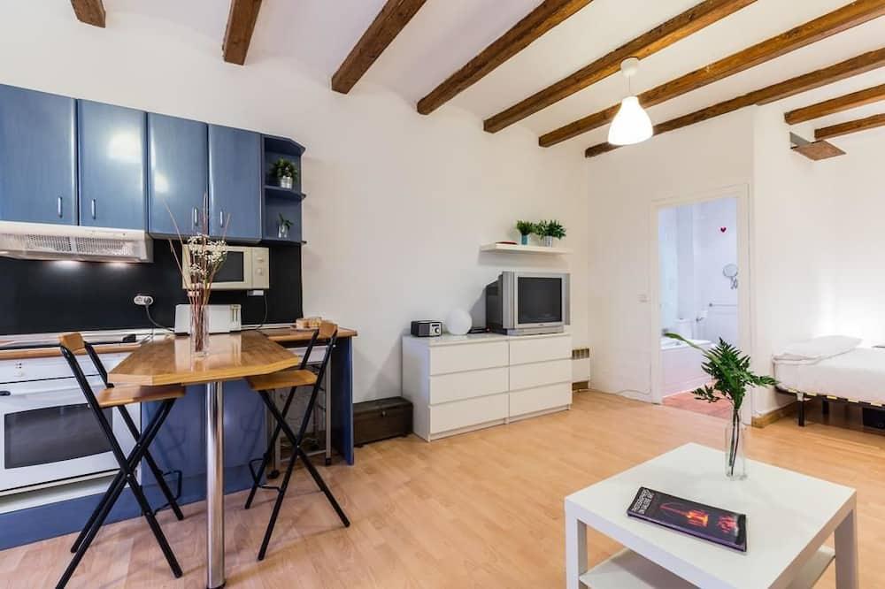 อพาร์ทเมนท์, 1 ห้องนอน, ระเบียง - ภาพเด่น