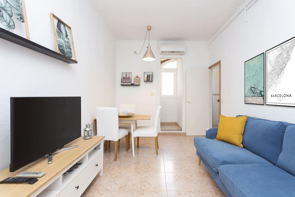 Lägenhet - 3 sovrum - terrass - Vardagsrum