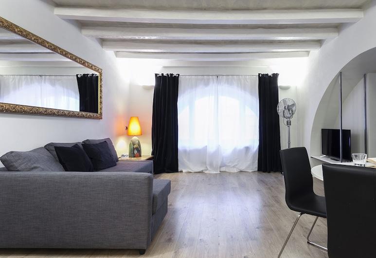 Italianway - Rosales 1 A, Milaan, Appartement, 1 slaapkamer, Woonruimte