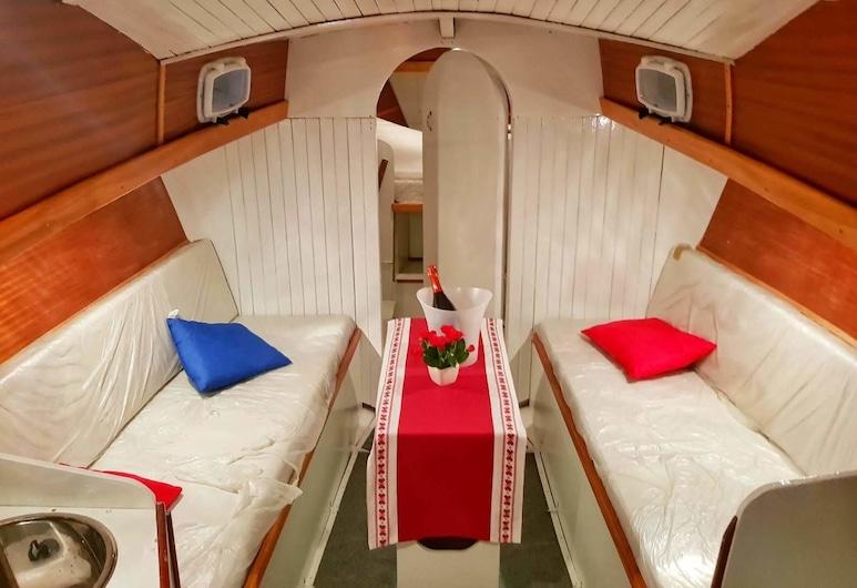 Free Estoria, Vittoria, Casa rodante familiar, 1 habitación, vista al puerto, Habitación