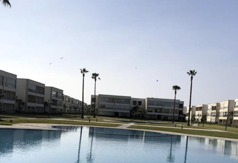 Apartment With one Bedroom in El Jadida, With Shared Pool, Enclosed Garden and Wifi, Sidi Rahal, Bazén
