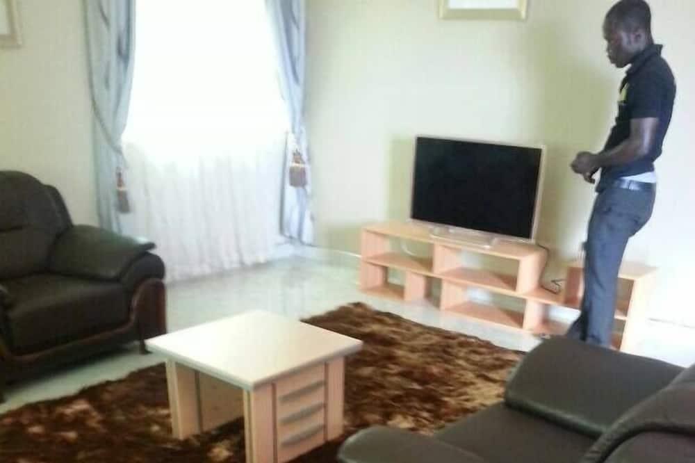 公寓, 3 间卧室 - 起居区