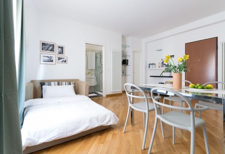 Nazario Sauro 15, Bologna, Appartamento, 1 camera da letto, Area soggiorno