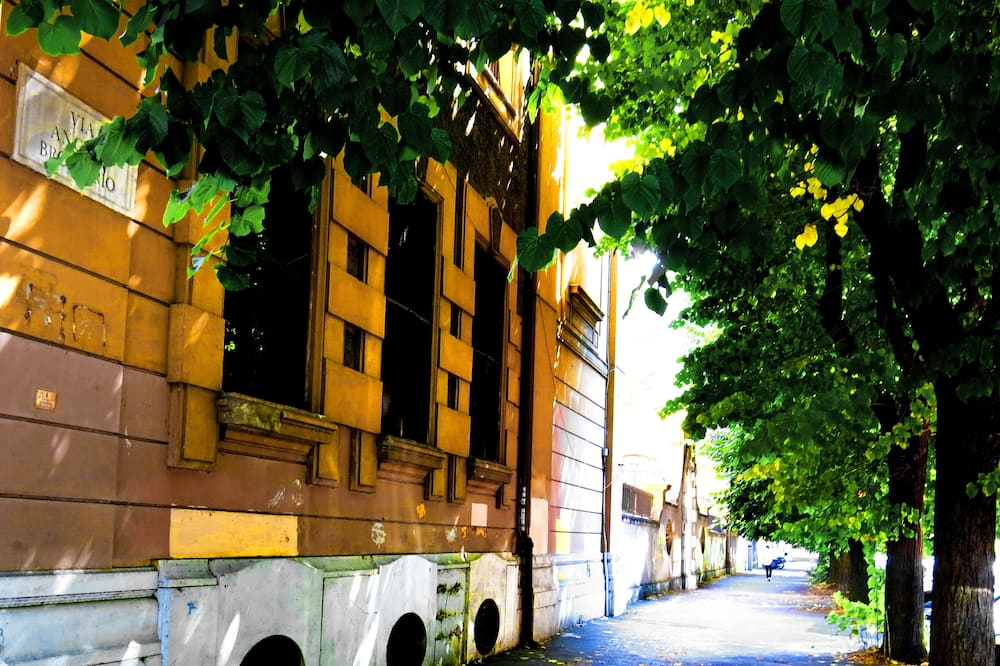 Výhled na ulici