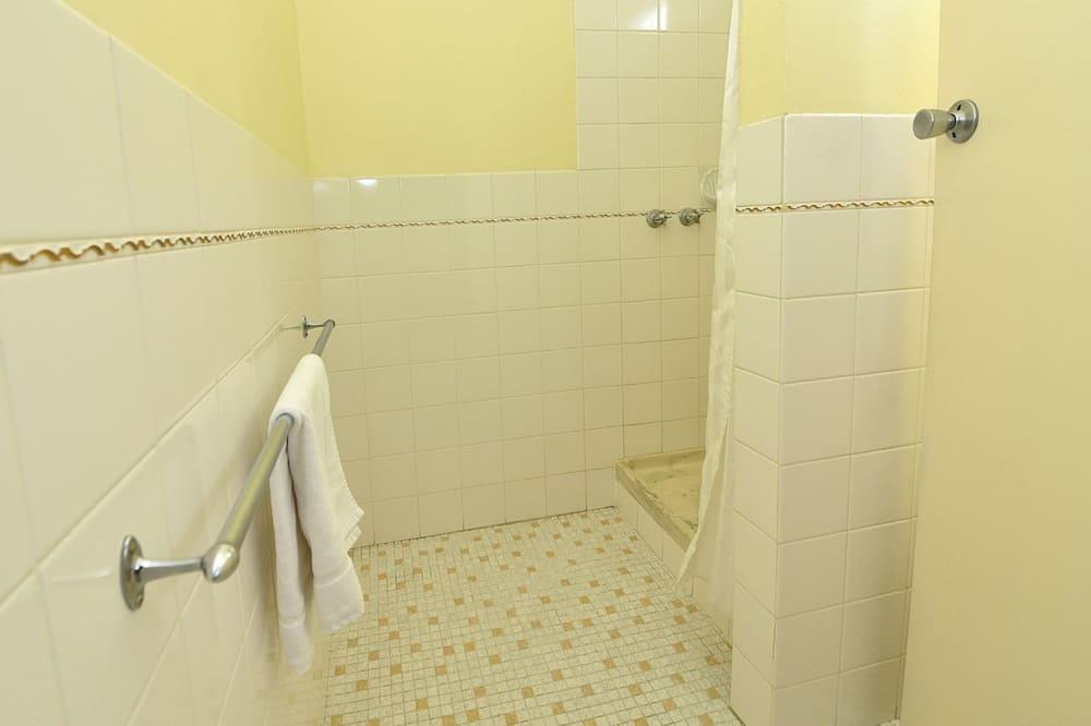 חדר זוגי - מקלחת בחדר הרחצה