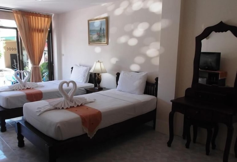 帕努邦酒店, 蘇梅島, 客房