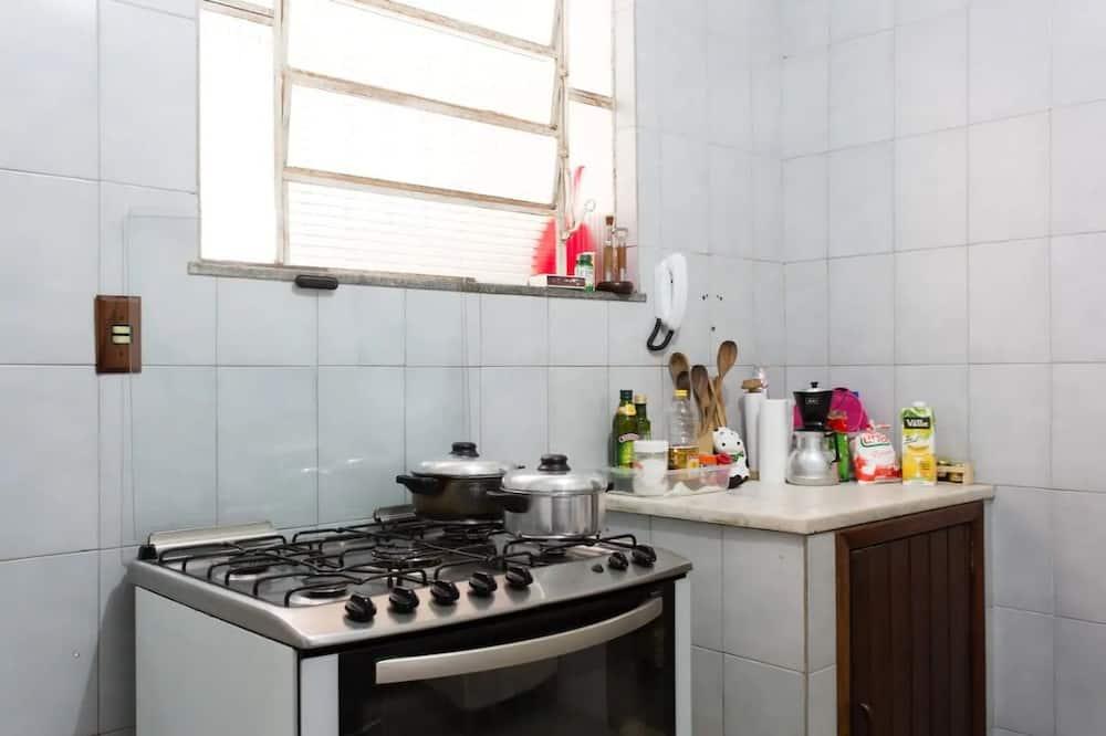Quarto conforto (8 pax) - Cozinha compartilhada
