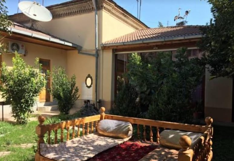 Hostel&Guesthouse Sim Sim, Samarcanda, Terraza o patio