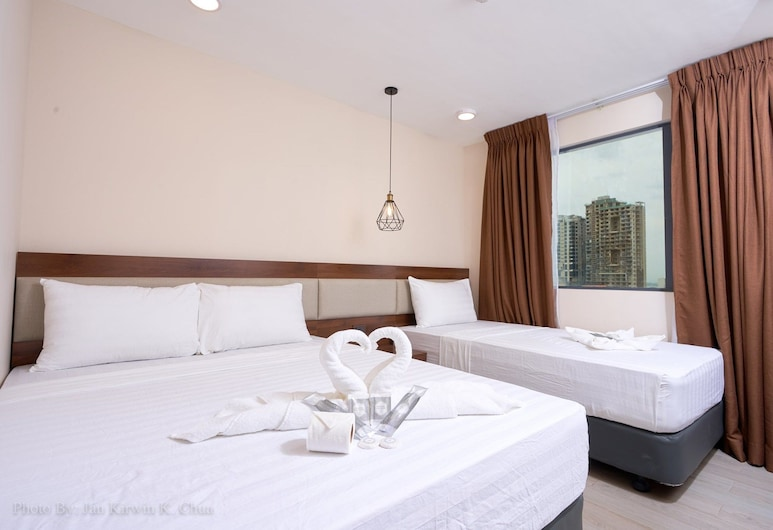 Griffin Hotel and Suites, Cebu, Family Room, Guest Room