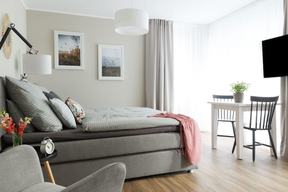 Estudio, balcón (Attic, incl. Cleaning Fee 70 EUR) - Sala de estar