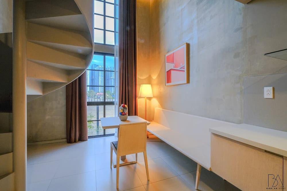 Deluxe-Maisonette (Sunset) - Wohnzimmer