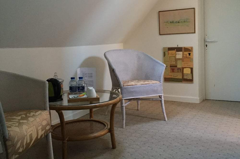 Double Room (La Dormeuse du Val) - Living Area