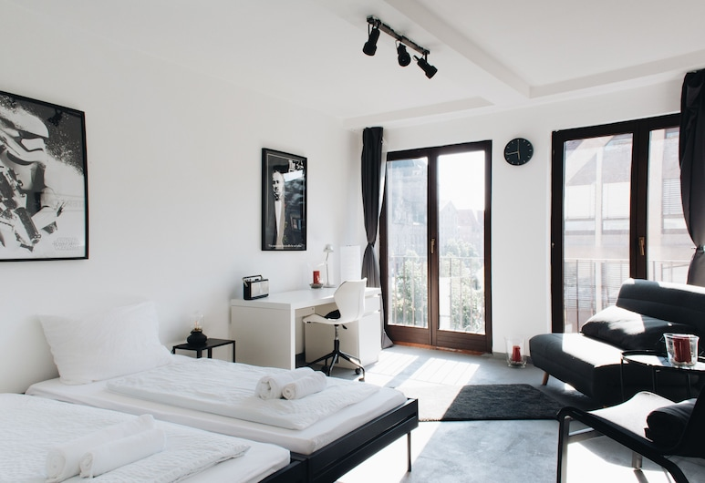 Apollo Apartments, Nuremberg, Apartment (Apollo - Cinema), Living Area