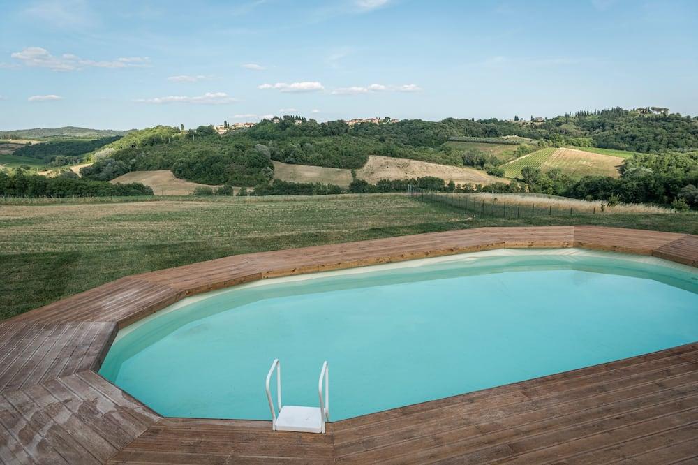 公寓, 泳池景 (Casa Miele) - 客房景觀
