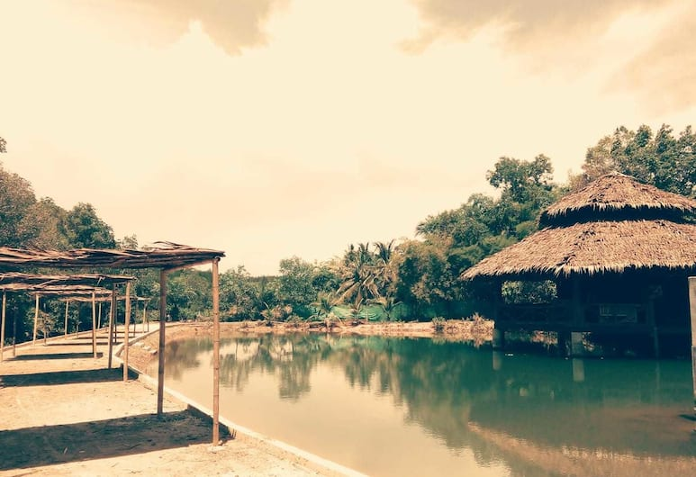 泰布酒吧里斯托音樂天使灣度假村, 喀比, 住宿範圍