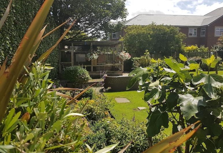 Dorset Arms Hotel, Wallsend, Jardín