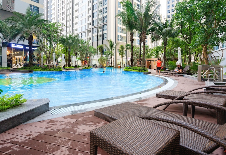 Vinhomes Central Park-Tory Apartment, Ho Chi Minh-Stad, Kinderzwembad