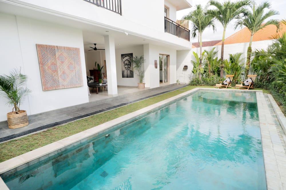 Villa familiar, 3 habitaciones - Piscina privada