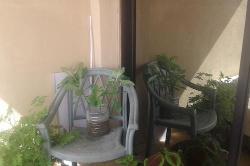 アレクサンドリアの中心にある客室をゲストに提供できます。/