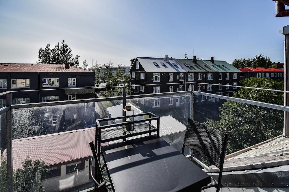 Apartmán typu City, 2 ložnice - Balkón