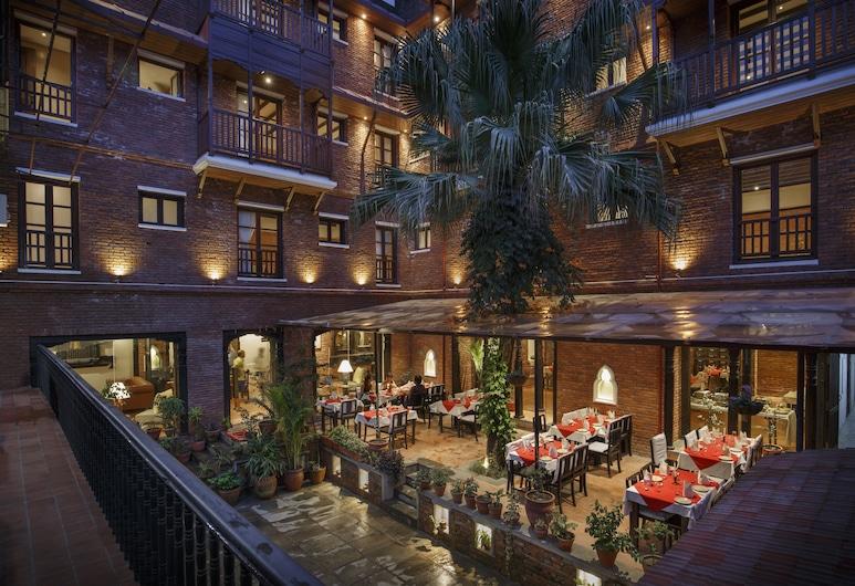Hotel Thamel house, Kathmandu, Sisäpiha