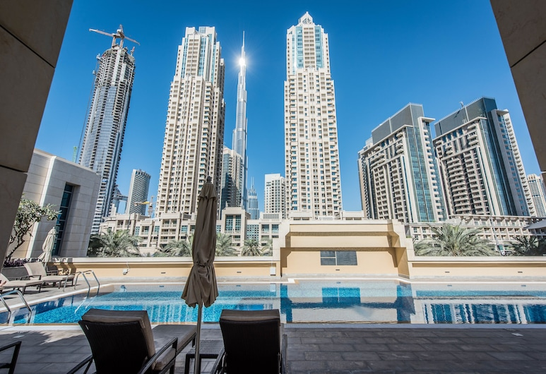 bnbme| St-Claren-502, Dubai, Pool