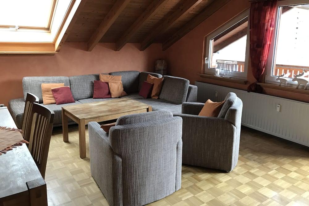 基本公寓, 3 間臥室 - 客廳