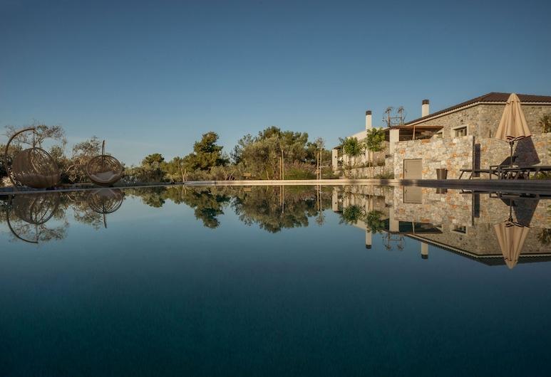Elies Residences, Λέσβος, Πρόσοψη καταλύματος