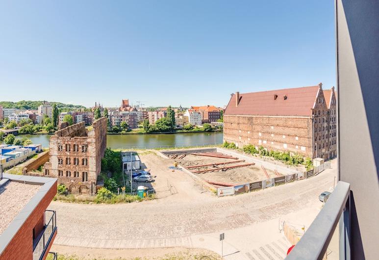 Blue Mandarin Apartments - Island, Gdansk, Gallery Studio Suite, River View, Balcony
