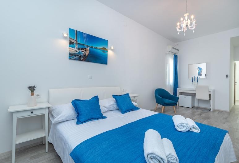 Villa Lux, Trogir, Deluxe tweepersoonskamer (Rooms 4, 5, First Floor), Kamer