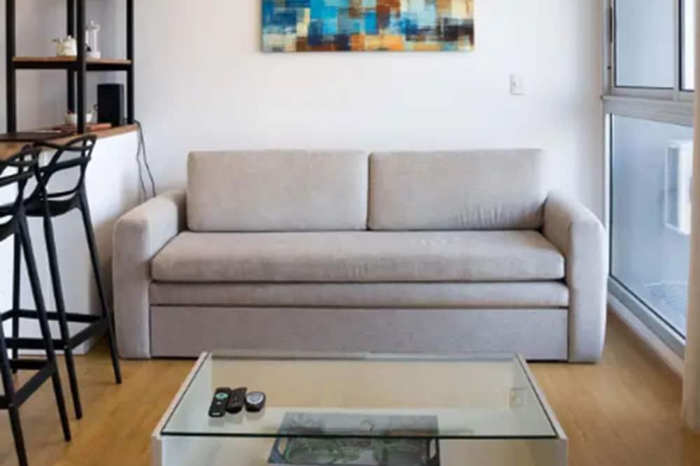 Departamento básico, 1 habitación - Sala de estar