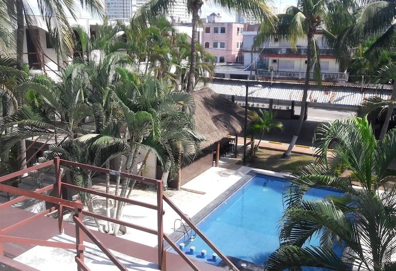 坎昆阿茲特克酒店, 坎昆, 室外泳池