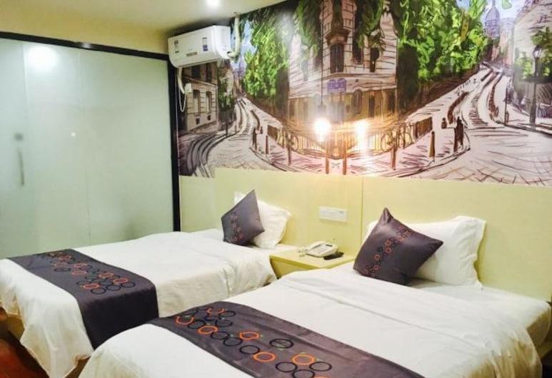 Yimi Hotel Sport Academy Branch, Canton, Camera Superior con 2 letti singoli, Camera