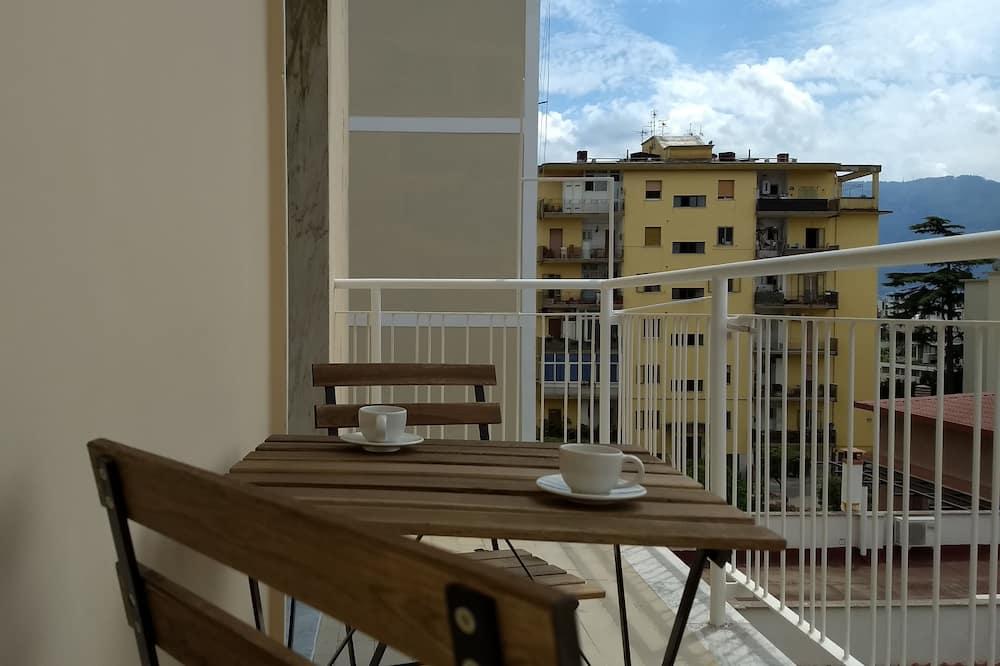 Pokój Comfort, balkon, widok na miasto - Taras/patio