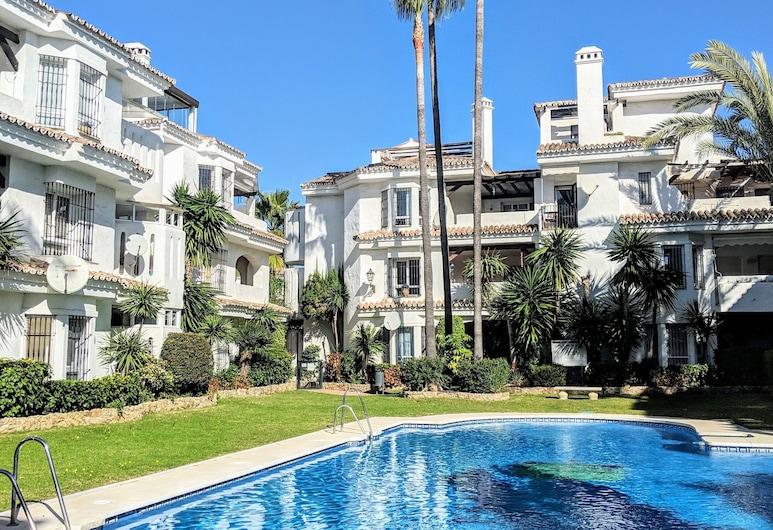 Puerto Banus Los Naranjos Hideaway, Marbella, Leilighet – deluxe, privat bad, utsikt mot fjell (Los Naranjos), Utvendig