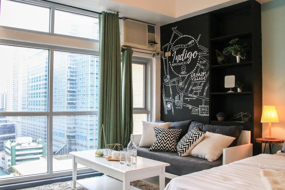 Exclusive Studio Apartment - Living Area