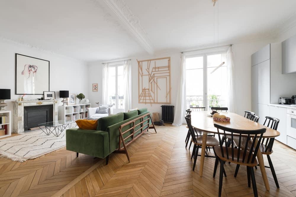 Apartamento (3 Bedrooms) - Sala de estar