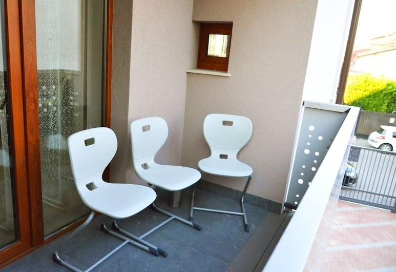 Elena Haus, Cluj-Napoca, Leilighet – grand, balkong, utsikt mot hage (Elena), Terrasse/veranda
