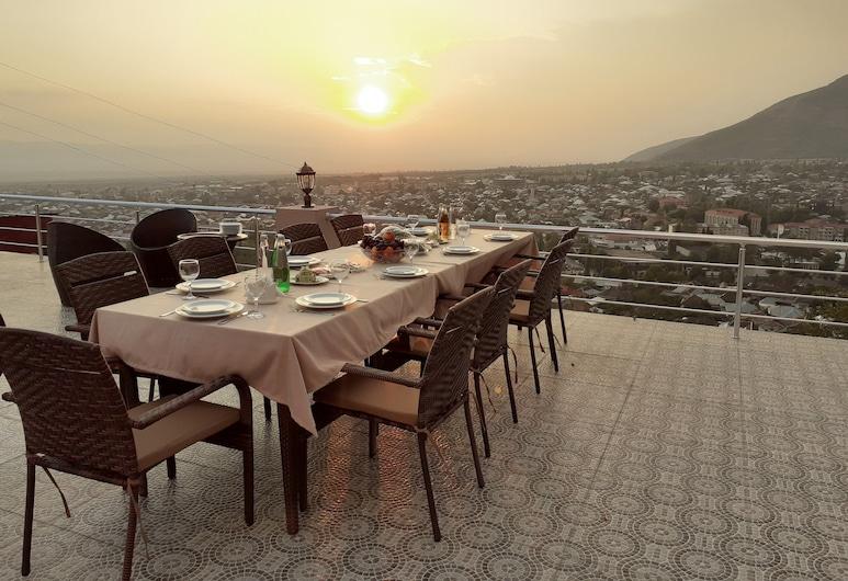 Ruma Qala Hotel, Sheki, Terrace/Patio