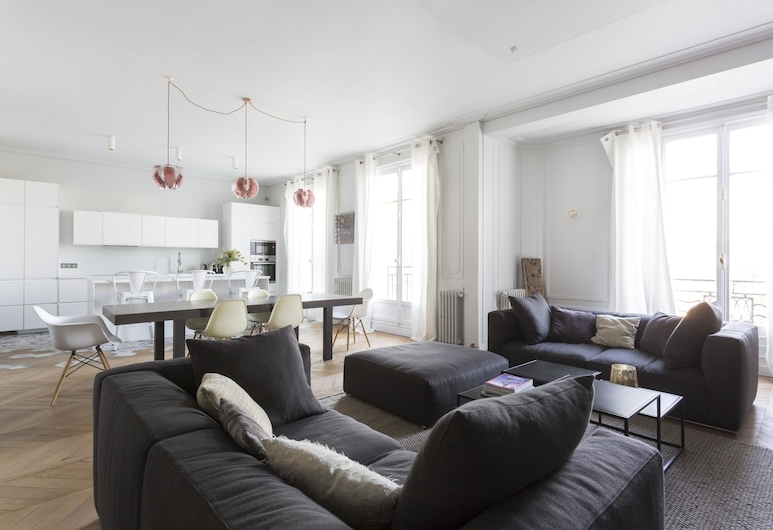 Avenue de Malakoff III by Onefinestay, Paris, Apartment (4 Bedrooms), Wohnzimmer